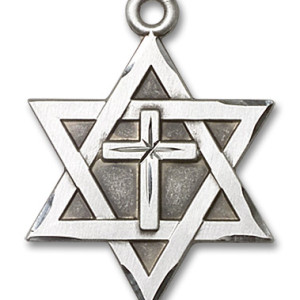 STAR OF DAVID w/ CROSS